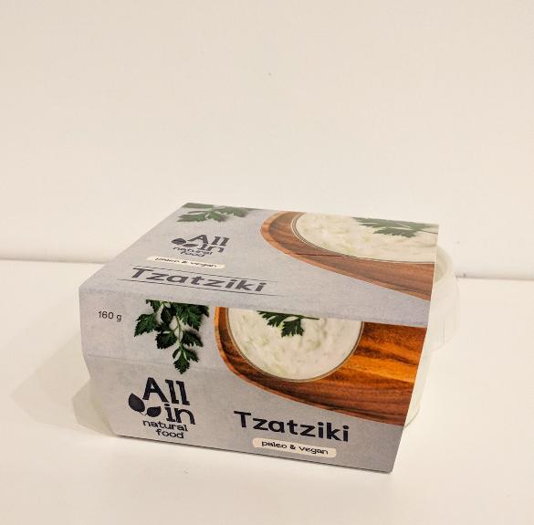 Paleo&vegán tzatziki saláta - 160 g