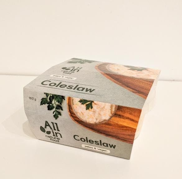 Paleo&vegán káposzta (Coleslaw) saláta - 160 g
