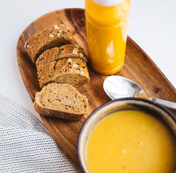 Paleo&vegán gyömbéres sárgarépa krémleves - 300 ml