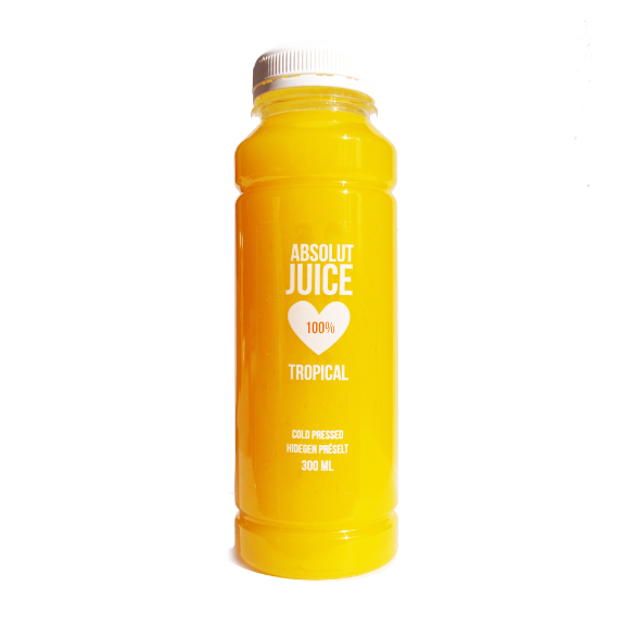 100% hidegen préselt tropical juice - 300 ml