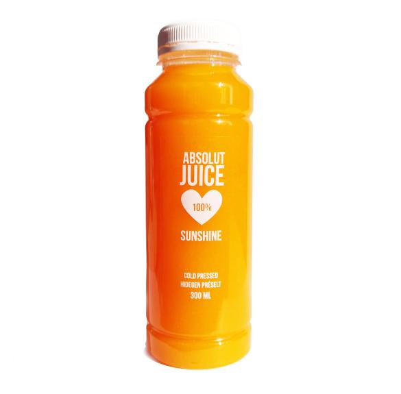 100% hidegen préselt sunshine juice - 300 ml