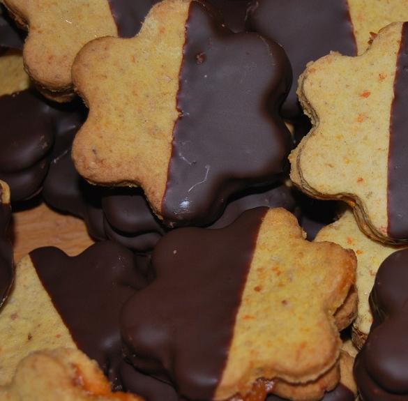 Bio sárgarépás-mandulás keksz - 25 dkg