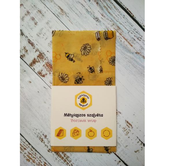 Méhecskés méhviaszos szalvéta - 2 db/csomag