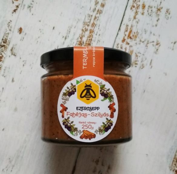 Fahéjas-szilvás repcekrémméz - 250 g