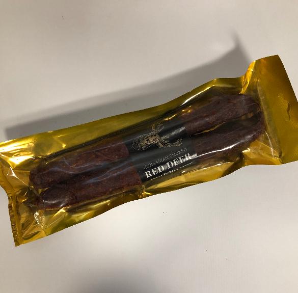 Füstölt paprikás páros szarvaskolbász - kb. 25-27 dkg