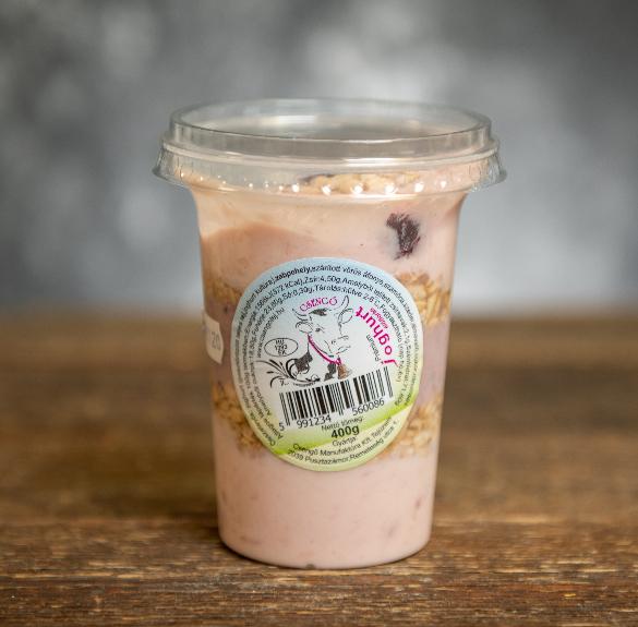 Prémium epres joghurt müzlivel - 400 g