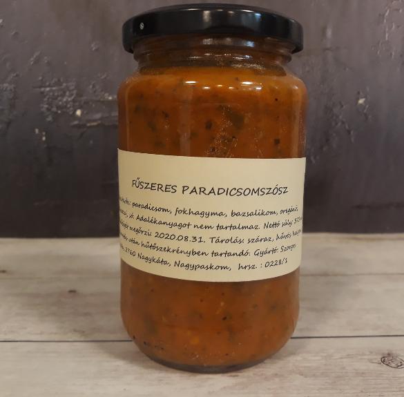 Fűszeres paradicsomszósz - 370 ml