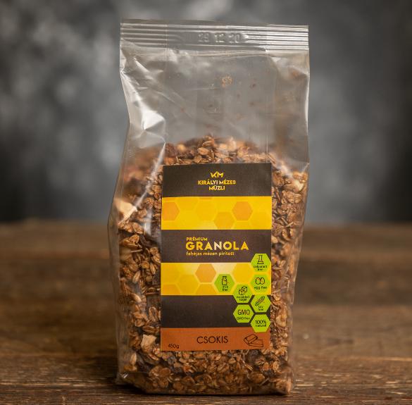 Csokis müzli (laktózmentes) - 450 g