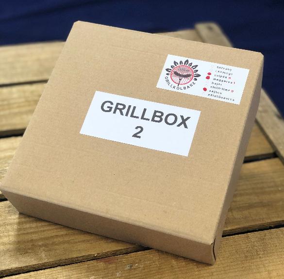 Grillkolbász box II. (csípős, magyaros, sajtos) - kb. 1 kg