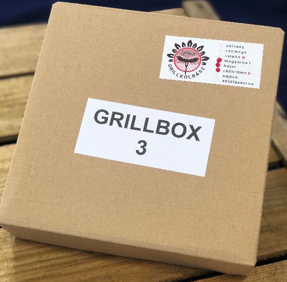 Grillkolbász box III. (chili-lime, bajor, magyaros) - kb. 1 kg