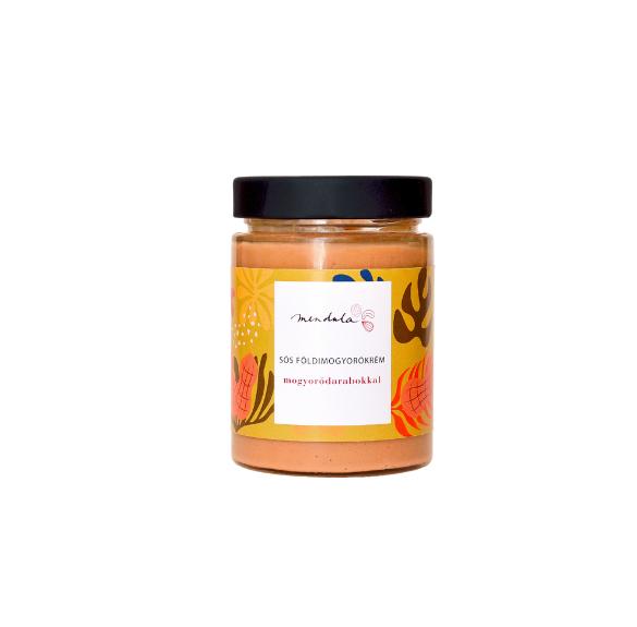 Sós földimogyorókrém (mogyoródarabokkal) - 330 g