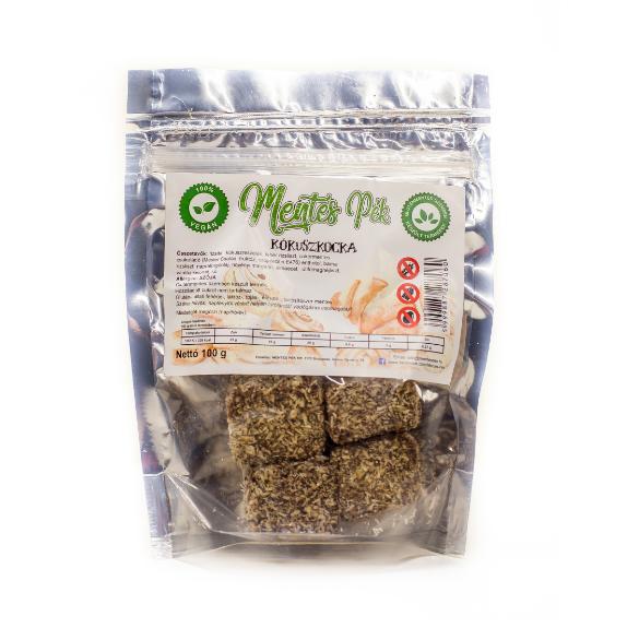 Gluténmentes kókusz kocka - 100 g