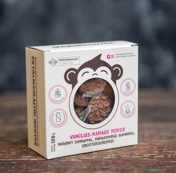 Vaníliás - kakaós keksz 120g