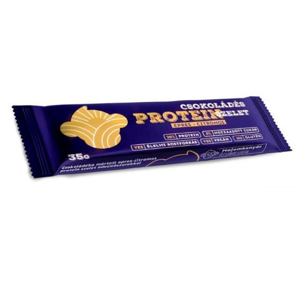 Majomkenyér - csokoládés protein szelet epres citromos 35g