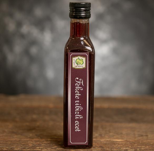 Fekete ribilzi ecet - 250 ml