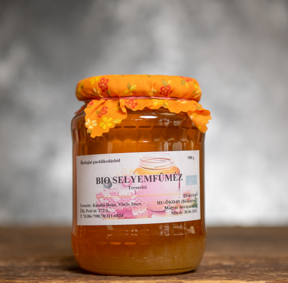 Bio selyemfűméz - 900 g