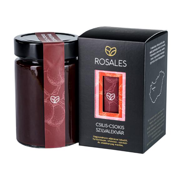 Prémium csilis-csokis lekvár - 400 g