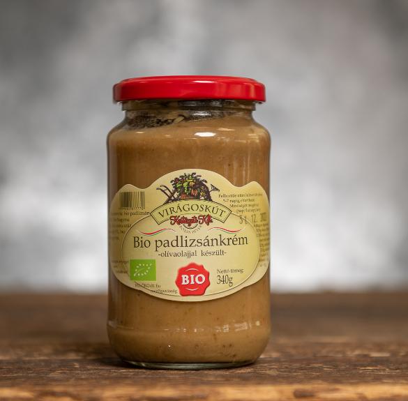 Bio padlizsánkrém (olivaolajjal) - 340 g