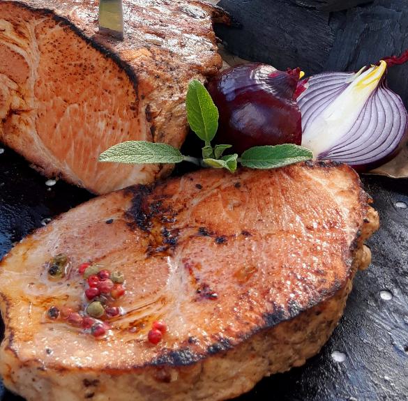 Sörben pácolt tarja steak sous vide - kb. 1,2 kg