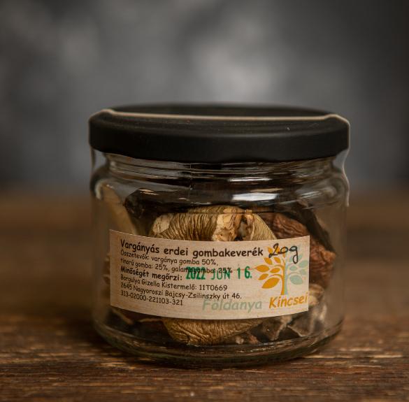 Vargányás erdei gombakeverék-20 g
