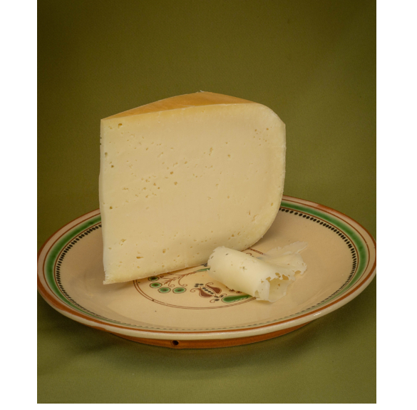 Bio érlelt félkemény natúr sajt