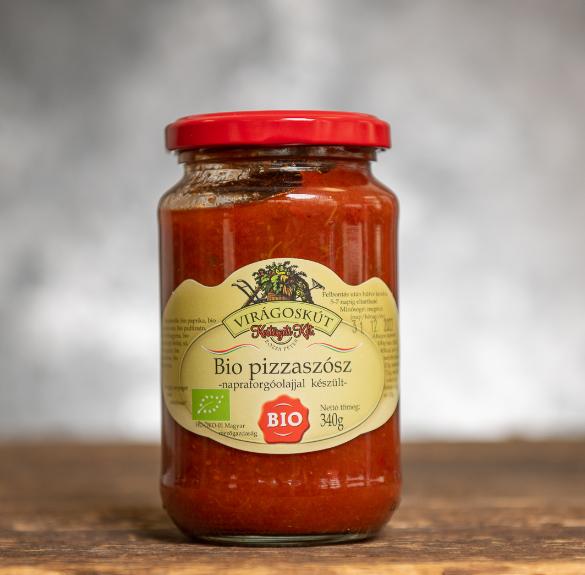 Bio pizzaszósz - 340 g