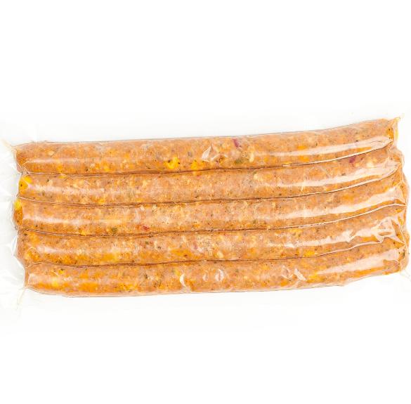 Chilis - mexikói grill kolbász sous-vide - kb. 50 dkg