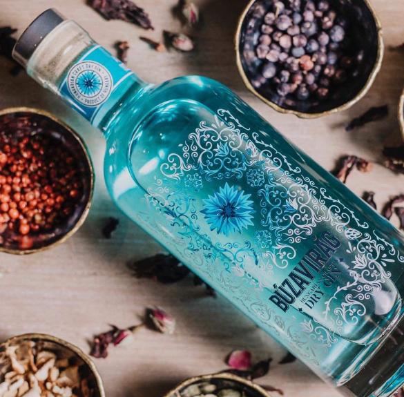 Búzavirág gin