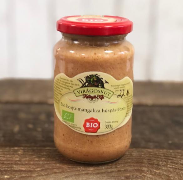 Bio borjú mangalica húspástétom-300 g