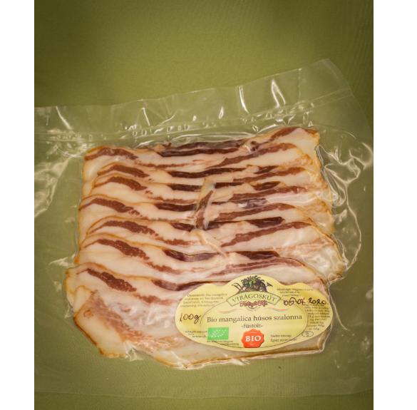Bio mangalica húsos szalonna/szeletelt/-10 dkg