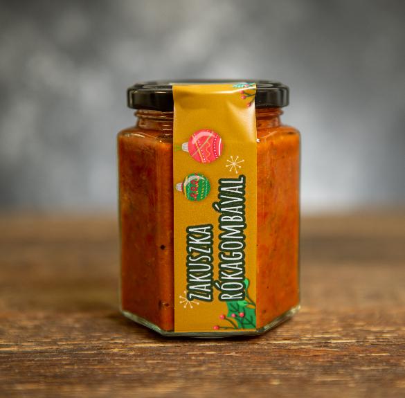 Zakuszka Rókagombás-300 ml