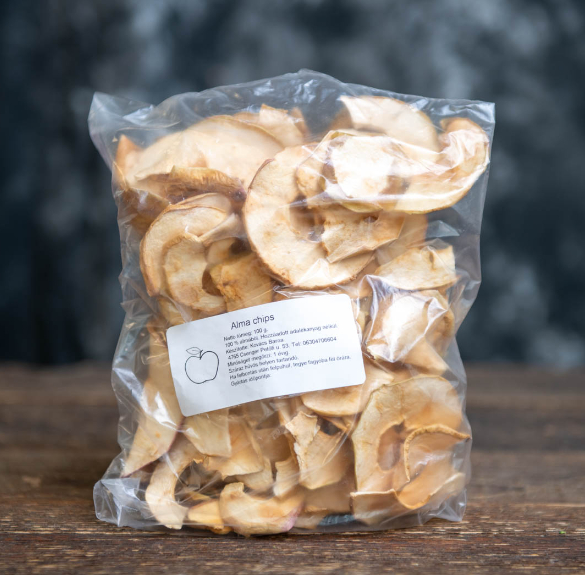 Bio aszalt alma chips -10 dkg