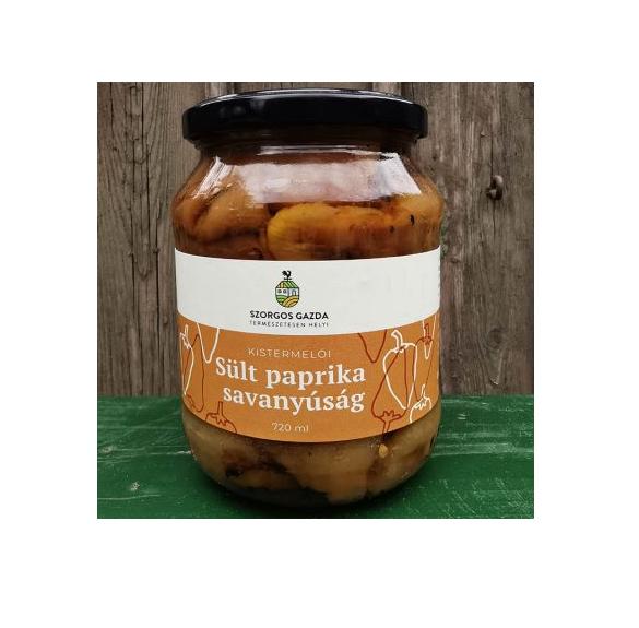 Sült paprika savanyúság-720 ml
