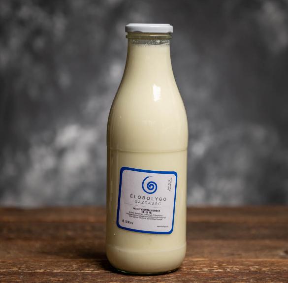 Bio pasztőrözött teljes tej - 1 l