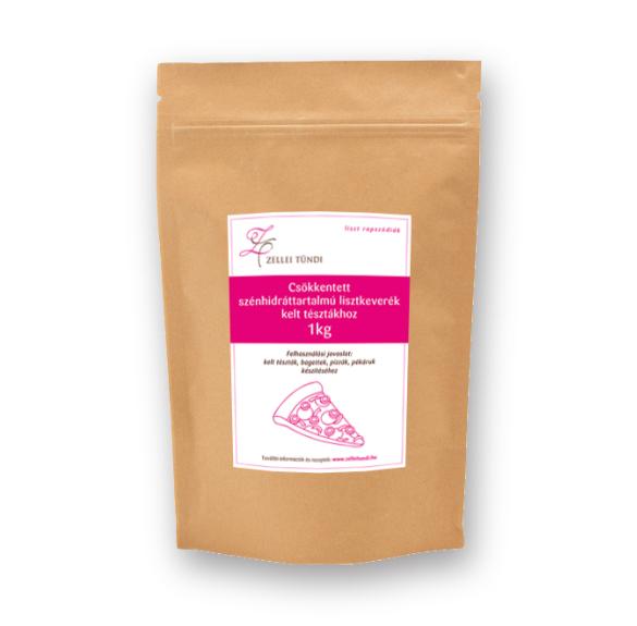 Zellei Tündi Csökkentett szénhidráttartalmú lisztkeverék kelt tésztákhoz - 1 kg