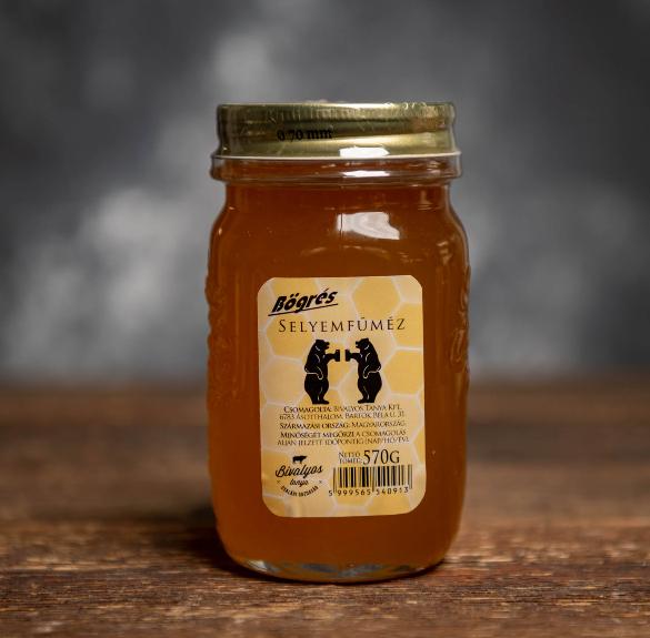 Bögrés selyemfű méz - 570 g