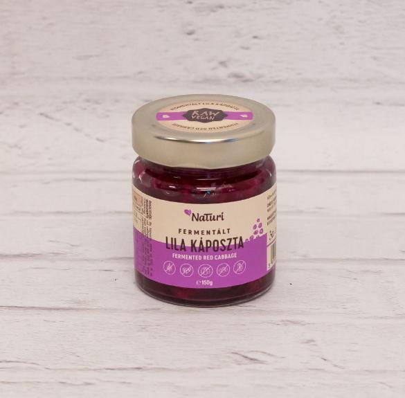 Fermentált lila káposzta- 150 g