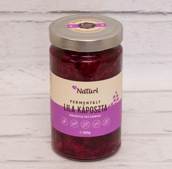 Fermentált lila káposzta- 500 g