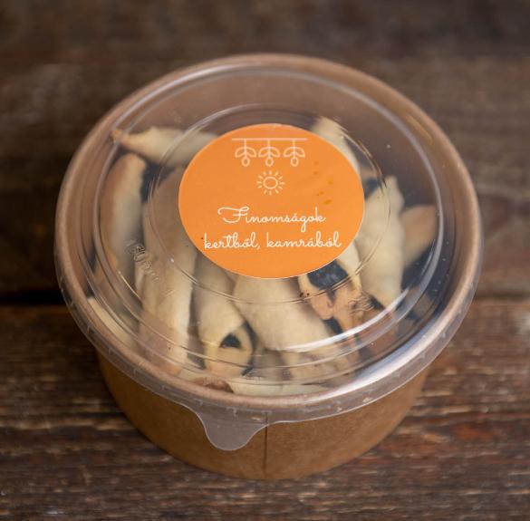 Cukormentes meggyes papucs - 20 dkg