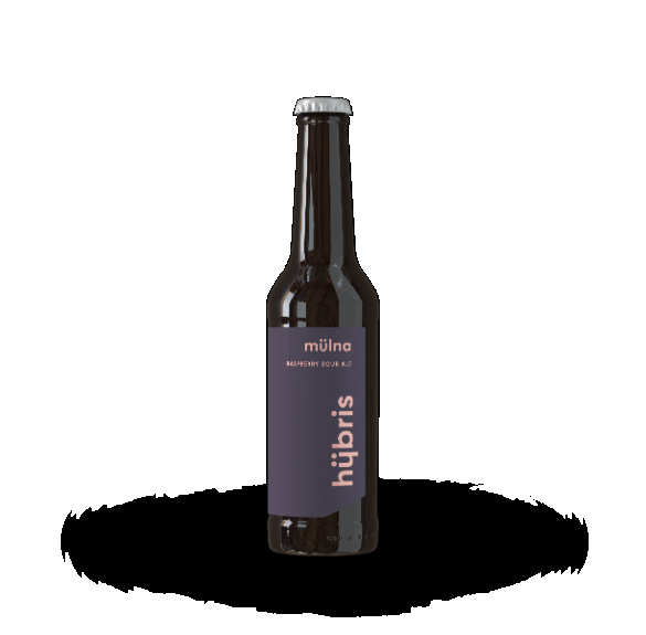 MÜLNA Palack - 0,33 l (3,7%)