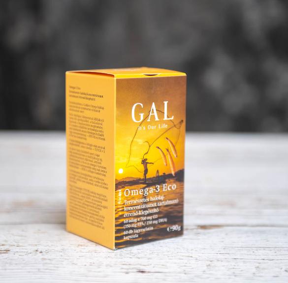 Gal Omega-3 Eco Halolaj kapszula - 60 db