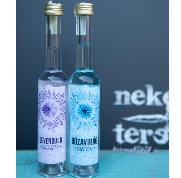 Búzavirág gin - 4 cl