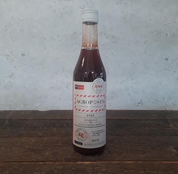 Eper természetes szirup - 500 ml
