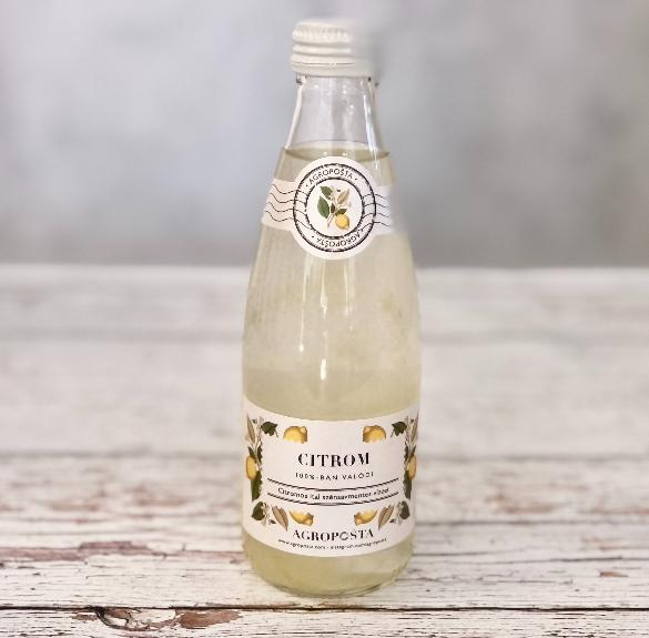 Citromos szénsavmentes ital - 250 ml
