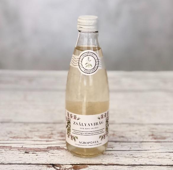 Zsályavirágos szénsavmentes ital - 250 ml