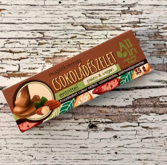 All in nugátkrémes csokoládészelet - 35 g