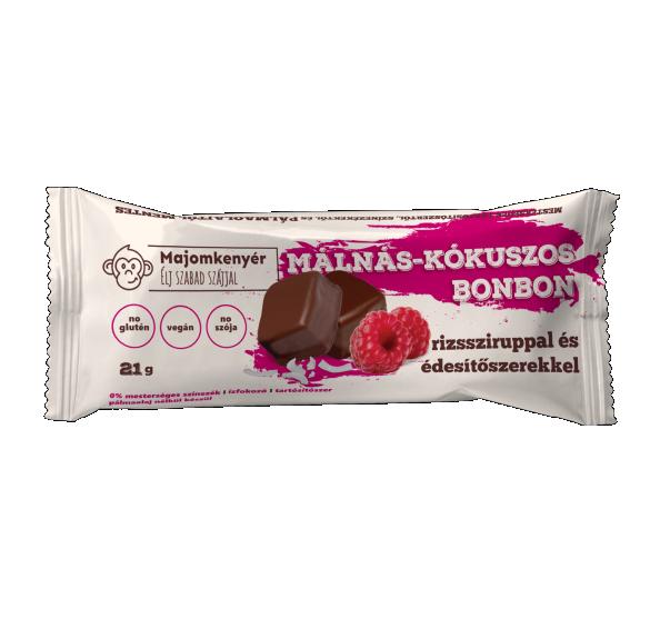 Málnás-kókuszos bonbon - 21 g/ 3 db