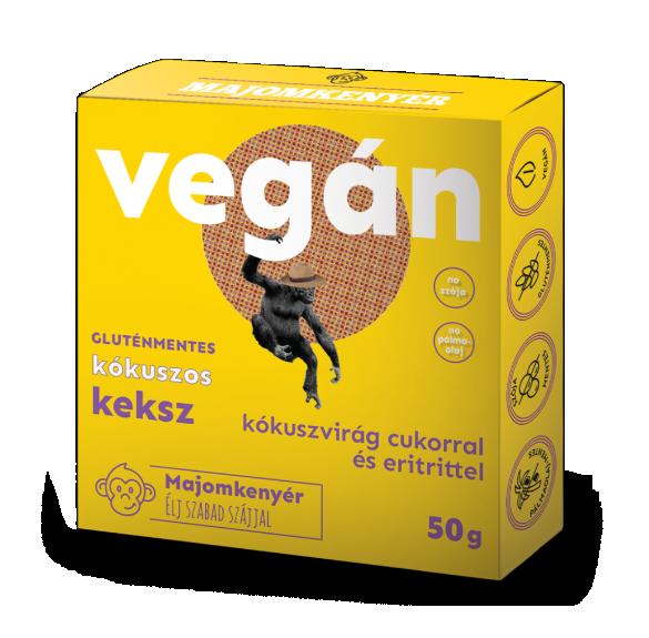 Vegán kókuszos keksz - 50 g