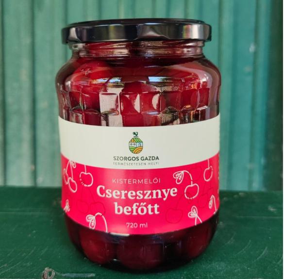 Cseresznyebefőtt - 720 ml