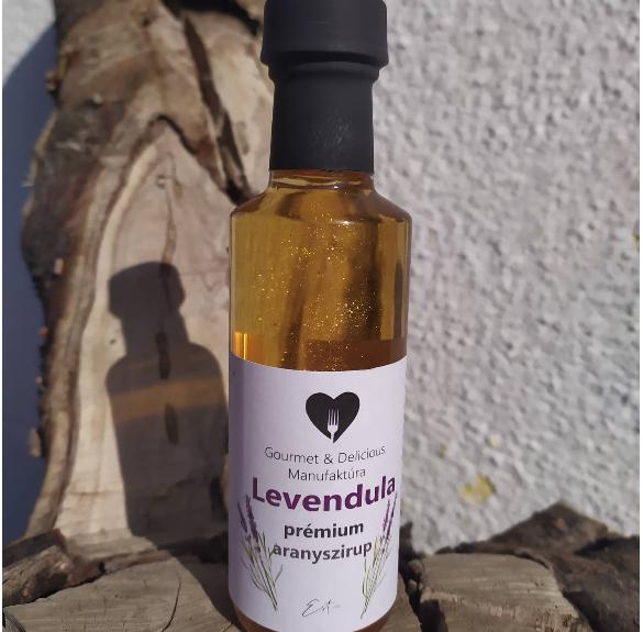 Levendula prémium aranyszirup - 100 ml